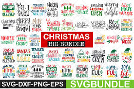 Naughty/nice svg file, christmas svg, digital download for cricut and silhouette (includes svg, dxf, eps, pdf, png file formats) sewsweetparadise. Christmas Svg Bundle Graphic By Svgbundle Net Creative Fabrica Teacher Favorite Things Christmas Bundle Christmas Svg