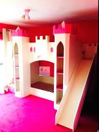 castle loft beds fresh of bunk bed with slide princess diy