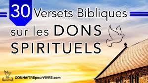 30 Versets Bibliques Sur Les Dons Spirituels Du Saint Esprit
