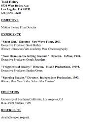 in post this time we will give a example about Sample Of Director Of  Example of FIlm Editor Resume that will give you ideas and provide a  reference for your ...