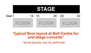 Drake Bell Center Seating Chart Bell Centre Concert Seating Chart Interactive Map