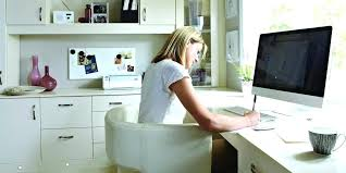 home office work. Work Home Office Woman Working In From Jobs Uk No Fee