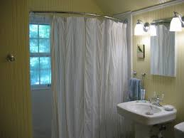 curtains ceiling curtain track system curtain rods home depot neoangle shower curtain rod at home depot contemporary
