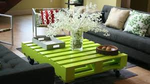 pallet design furniture. VIEW IN GALLERY Green Pallet Coffee Table-wonderfuldiy Design Furniture D