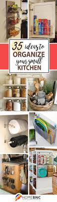 35 fantastic storage ideas for a small kitchen organization and optimization