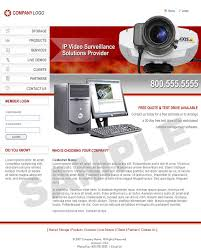 Cctv Camera Website Template Free Download Cctv Website Template