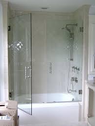bathtubs frameless glass hinged tub door glass pivot bathtub doors