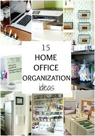 organization ideas for home office. Home Office Organization Ideas On A Budget For