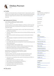 Example Of Nanny Resumes Nanny Resume Writing Guide 12 Template Samples Pdf