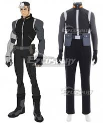 Voltron Legendary Defender Height Chart Voltron Legendary Defender Shiro Takashi Shirogane Cosplay Costume