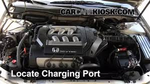 How To Add Refrigerant To A 1998 2002 Honda Accord 1999