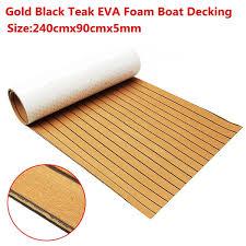 wish multiple color brown grey gold blue eva boat yacht marine flooring teak decking floor mat carpet for yacht car boat home decor 3 sizes 240x90cmx5mm