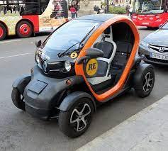 Renault 2 Seater Electric Car Futuristic Cars City Car Tiny Cars