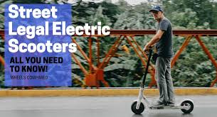 Street Legal Electric Scooters For Adults In 2019 New Guide