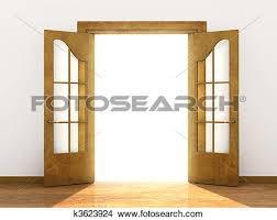 Simple Open Door Drawing T Inside Inspiration