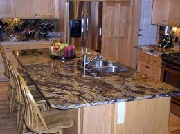 Kitchen Island With Granite Top And Breakfast Bar Kitchens Kitchen Island Granite Top Kitchen Island Granite Top