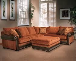 Orange Living Room Furniture Design Home Ideas