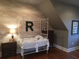 accent wall lighting. Modern Rustic Nursery - We Love The Use Of This Light \ Accent Wall Lighting E