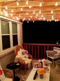 outdoor patio string light decor string lights
