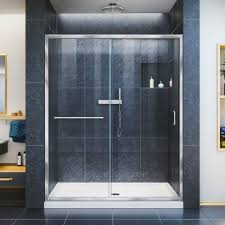 dreamline infinity z frameless sliding shower door and