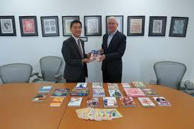 Ambassador Kobayashi's Call on Mr. Schafer, Director of TAISM, and ...