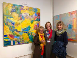 """Marion Kahn on Twitter: """"Guests at the First Friday Art opening at ..."""