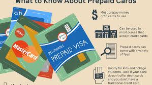 how does a prepaid card work