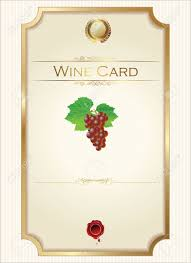 Free Wine List Template Wine Menu Template With A Price List Royalty Free Cliparts Vectors 14