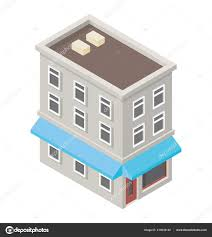 Simple Building Design Pictures Simple Building Design Elementary School Stock Vector