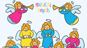 hark the herald angels sing clipart.  Sing Hark The Herald Angels Sing  Lyrics Karaoke Christmas Songs For  Children  Music Carols To Hark Clipart