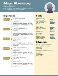 Design Resume Templates Simple 48 Creative Resume Templates [Unique NonTraditional Designs]