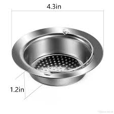 kitchen sink strainer stainless steel sink drains strainers 4 5 diameter fit for almost all us kitchen sinks kitchen sink strainer stainless steel sink