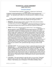 Free Printable Lease Agreement For Renting A House Rental Agreement Template Free Top Form Templates Free Templates
