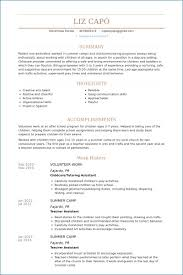 Resume Templates Volunteer Work Volunteer Experience On Resume Cool New Resume Volunteer Experience