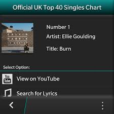 Uk Top 40 Music Singles Chart Blackberry Forums At