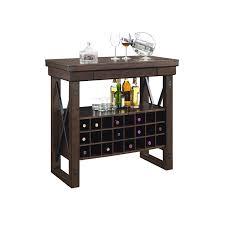 Gladstone 24 Bottle Hanging Wine Rack