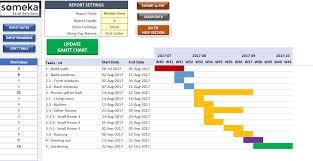 Gantt Chart Excel Pdf Excel Gantt Chart Maker