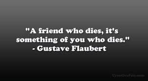 Quotes On Death Of A Friend