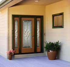 jeld wen front doorsJeld Wen Architectural Glass Panel Fiberglass Door Oak Woodgrain