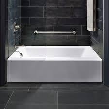 best of kohler archer tub installation kohler archer tub stylish bathroom with white bathtub grey