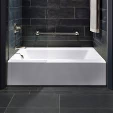 best of kohler archer tub installation kohler archer tub stylish bathroom with white bathtub grey
