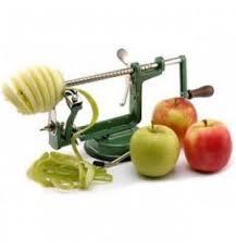 apple slicer. ezidri apple peeler, corer, slicer