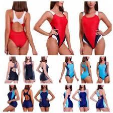 Image Is Loading Women 039 S Swimming Costume One Piece Monokini
