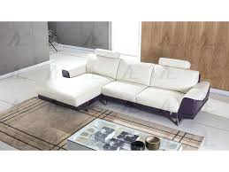 sophisticated chaise sectional sofa modern white and purple leather right chaise sectional sofa set vogue microfiber