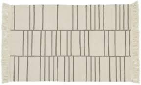 eaton ivory geometric rug