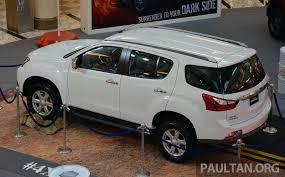 Isuzu MU-X - 7-seater 2.5L SUV previewed in Malaysia