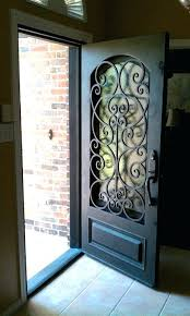 iron and glass front doors wrought iron glass door iron and glass double entry doors