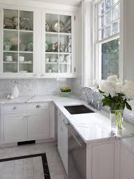 Marvelous Design Kitchen Floors With White Cabinets Tile Floor Houzz