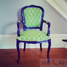 DIY Reupholstery Project: Louis XV Chair