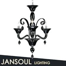 black murano chandelier 3 candelabra vintage glass chandelier black pendant light black venetian glass chandelier small